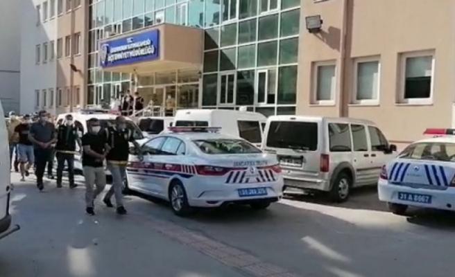 İskenderun'da yasa dışı bahis   operasyonu: 35 gözaltı