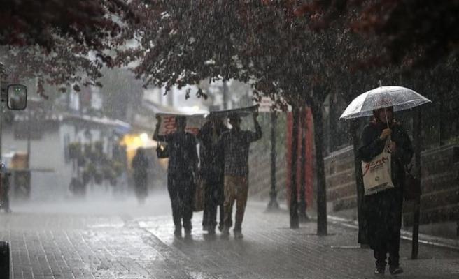Meteoroloji'den Hatay için   kuvvetli yağış uyarısı