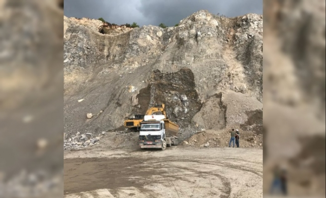 Akarca'da İSDEMİR'e Ait Kalker   Maden Ocağına izin yok