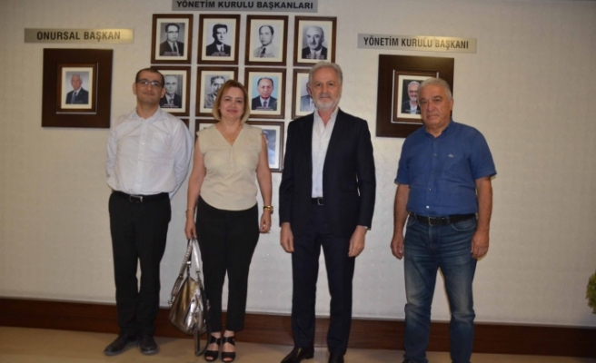 DASİFED Başkanı Gülay Gül   İTSO'yu Ziyaret Etti