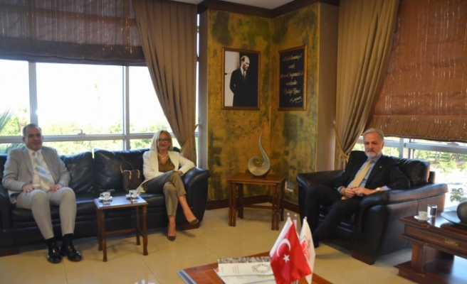 Hatay Barosu Başkanı Avukat   Açıkalın İTSO'yu Ziyaret Etti
