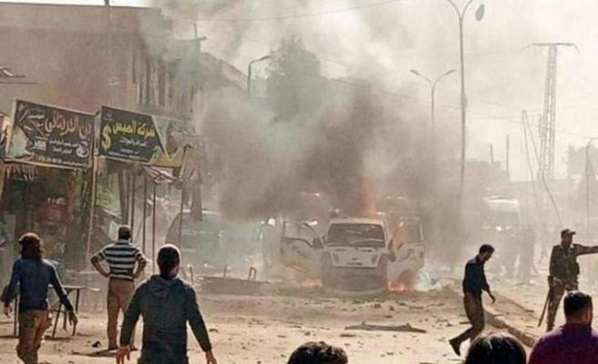 Hatay Valiliği: Afrin'de YPG/PKK'nın   bombalı terör saldırısında   3 sivil öldü,10 sivil yaralandı