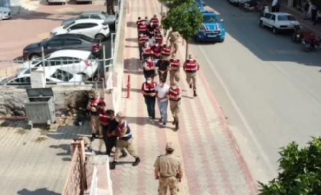 Hatay'da hırsızlık şebekesi çökertildi