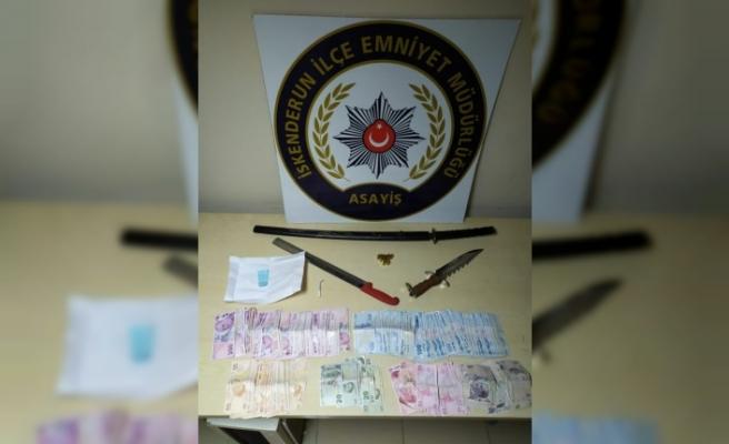 İskenderun'da suç örgütü   üyesi 2 kişi gözaltında