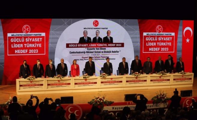 MHP Bölge İstişare Toplantısı Son   Olarak Kayseri'de Tamamlandı