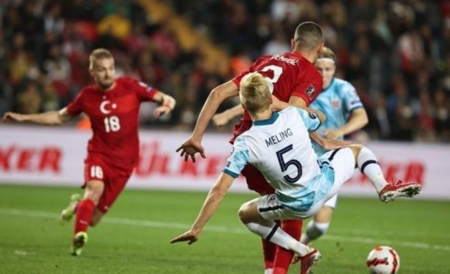 Türkiye: 1 - Norveç: 1 MAÇ SONUCU