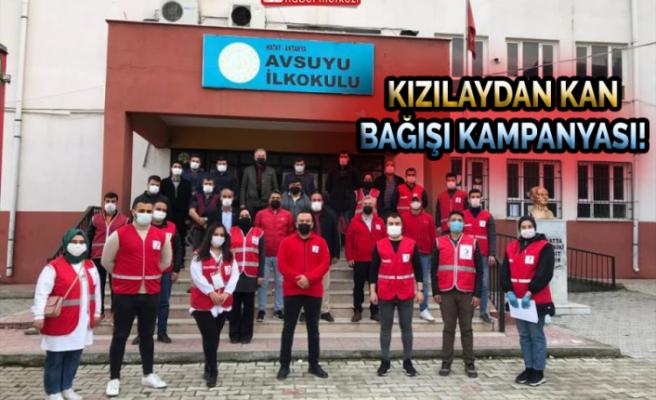 Kızılay'dan Kan Bağışı Kampanyası!