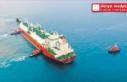 Türkiye'nin   İlk LNG Gemisi   Hatay Yolunda