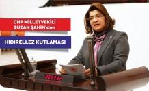 CHP Milletvekili Suzan ŞAHİN' den HIDIRELLEZ Kutlaması