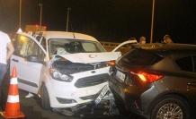 TEM'de zincirleme kaza: Yaralılar var