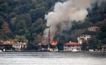 Vaniköy Camii yangınında itfaiyenin raporu ortaya çıktı