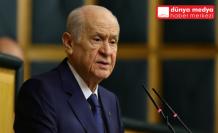 """MHP Lideri Bahçeli:   """"İçişleri Bakanı yalnız değildir!"""""""