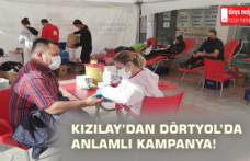 Kızılay'dan Dörtyol'da Anlamlı Kampanya!