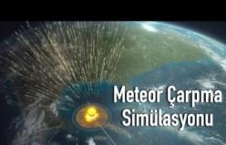 Dünya'ya Dev Bir Meteor Çarparsa Ne Olur?