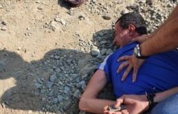 Arsuz'da 4 noktada ormanı yakan şahıs suçüstü yakalandı