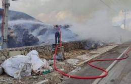 Antakya Organize Sanayi Bölgesinde fabrika yangını