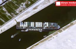 Süveyş Kanalı'ndaki gemi kurtarıldı!