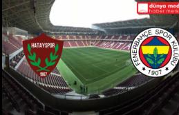 Yeni Hatay Stadı'ndaki Açılış Maçı İptal Edildi