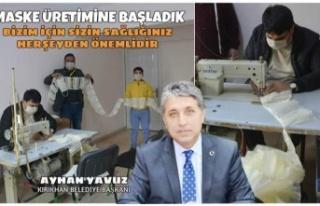 Başkan Yavuz Tedbirde Sınır Tanımadı ve Maske...