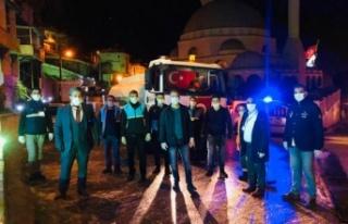 Belen Belediye Başkanı İbrahim Gül gece gündüz...