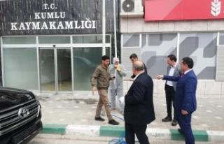 Kumlu'da VEFASOSYAL DESTEK ÇALIŞMA GRUBU...