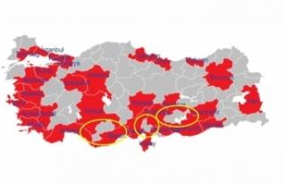 Büyükşehirlerden çıkış yasaklanınca Karaman,Kilis,...
