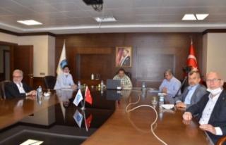 İTSO'da Video Konferans Yöntemiyle Meclis Toplantısı...