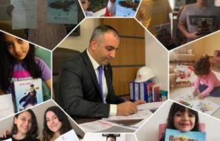 MHP Milletvekili Lütfi KAŞIKÇI'dan çocuklara...