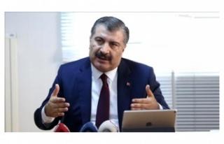 Sağlık Bakanı Fahrettin Koca, koronavirüs tedavisindeki...