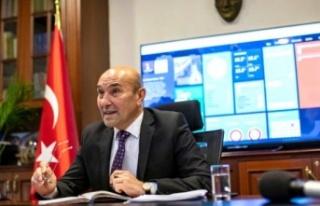 Başkan Soyer'den İzmir minarelerinden şarkı...