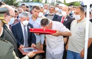 """""""Hakkını helal et bize Şehidim"""""""