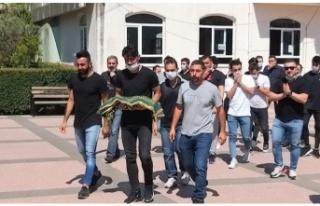 Hatayspor file bekçisi Ömer Alıcı'nın Evlat...