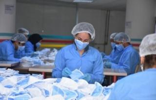 Malatya'da üretilen bu maske 1 milyar sipariş...