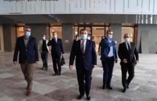 Sağlık bakanı Fahrettin Koca, Başakşehir Şehir...