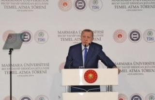 Erdoğan açılışını yaptığı hastanenin adını...