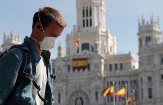 İspanya'da son 24 saatte koronavirüsten ölüm...