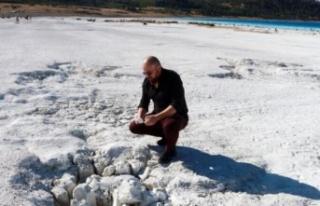 Jeofizik yüksek mühendisi Arıkan: Salda Gölü'ndeki...