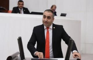 MHP Milletvekili Lütfi Kaşıkçı'dan Baro...