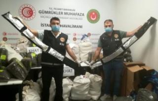 İstanbul Havalimanı'nda 420 kg uyuşturucu...