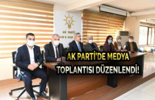 Ak Parti'de Medya Toplantısı Düzenlendi!