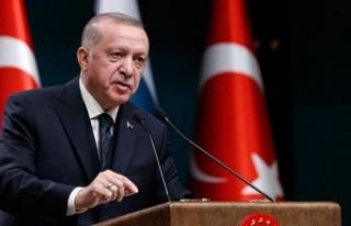 Erdoğan'dan Noel Mesajı