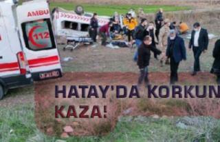 Hatay'da Korkunç Kaza!