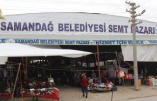 Samandağ'da Semt Pazarları Kapatıldı!
