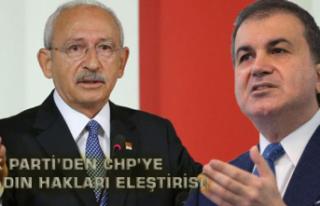 Ak Parti'den CHP'ye Kadın Hakları Eleştirisi!