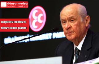 Bahçeli'den Erdoğan ve Aliyev'e İlkokul...