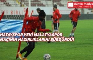 Hatayspor Yeni Malatyaspor Maçının Hazırlıklarını...