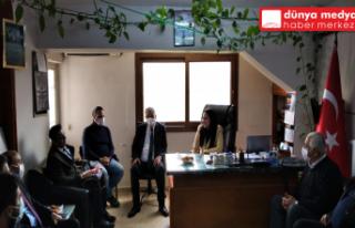 Milletvekili Çelik ve Başkan Yılmaz Derici Esnafı...