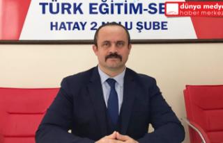 """Türk Eğitim-Sen Başkanı Yanık: """"Öğretmenlerin..."""