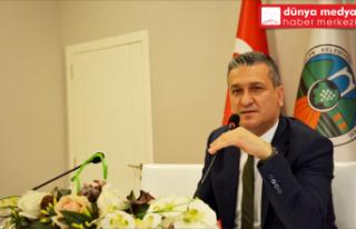 """Başkan İbrahim Gül Belenlilere Seslendi """"Şehrimizin..."""