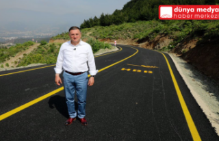 BAŞKAN SAVAŞ KOZAKLI MAHALLESİ'NDEKİ ASFALTLANAN...